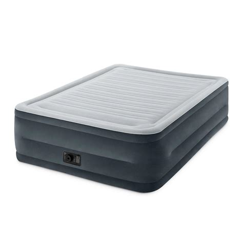intex comfort plush intex comfort plush elevated dura beam 22in airbed for 41