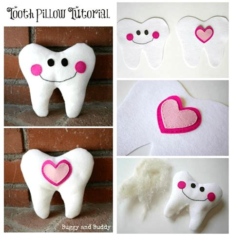 Wonderful Diy Tooth Pillow by Felt Tooth Pillow Tutorial Buggy And Buddy
