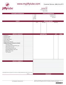 2 part invoices jiffy supply