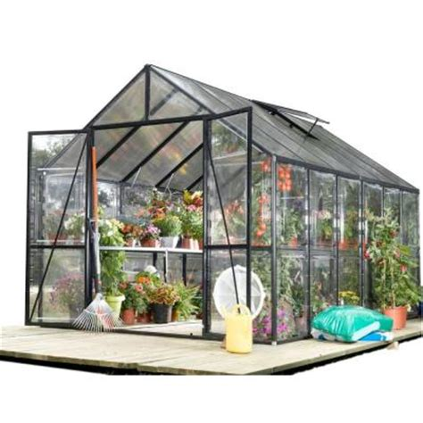 stc clear view 8 ft x 12 ft greenhouse eg45812vg the