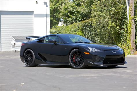 custom lexus lfa lexus lfa with 20inch concave forgestar f14 wheels