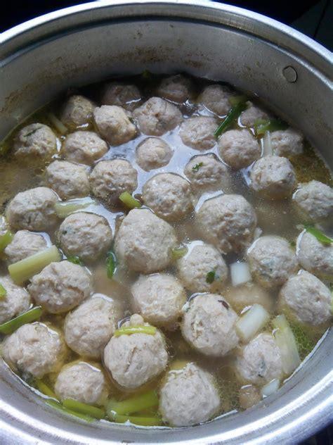 Resep Membuat Cilok Warna | resep membuat pentol bakso daging ayam tentang resep