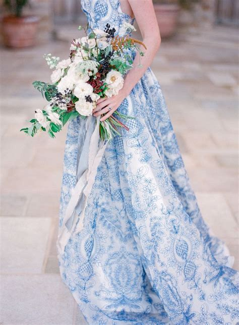 Wedding Dresses Designer Blue by 17 Best Ideas About Blue Wedding Dresses On