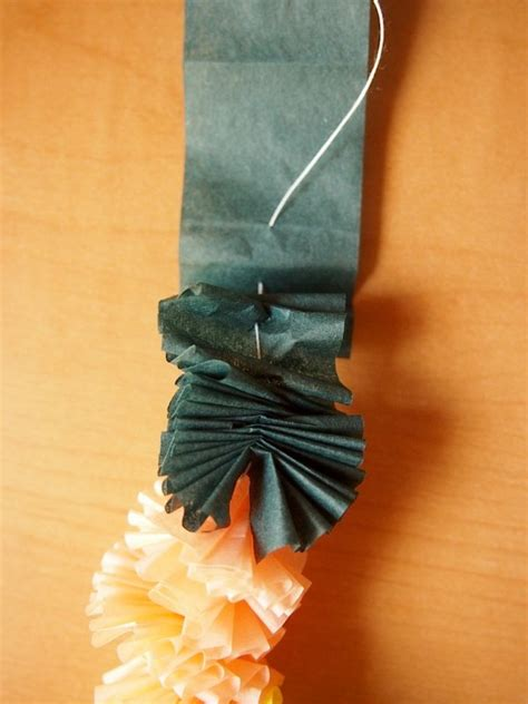 How To Make Paper Leis - tissue paper leis what i do