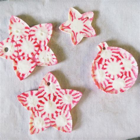 peppermint decorations peppermint ornaments