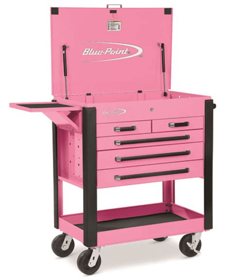 Everyday Tool Kit In Pink Or Blue by Roll Carts Blue Point 174