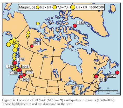 earthquake zones in canada canada s earthquakes the good the bad and the ugly