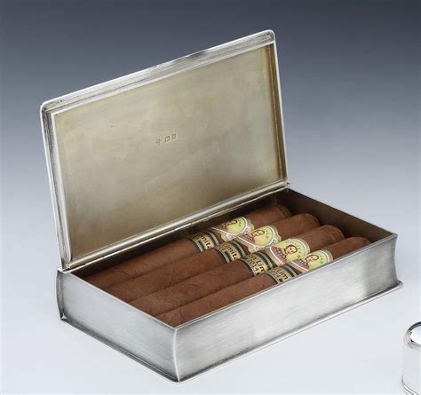 the silver box the silver box series books sterling silver novelty book cigar box for sale at 1stdibs