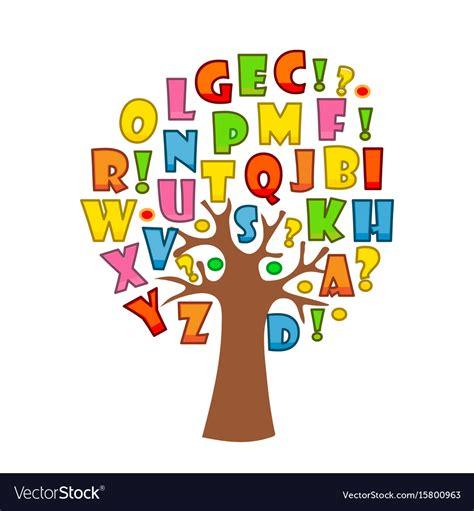The Alphabet Trees tree alphabet letters image home garden and tree rtecx