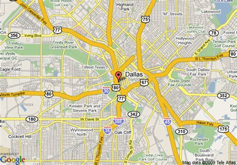 where is dallas texas on the map map of hyatt regency dallas dallas