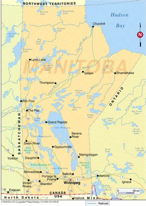 Cabinet For Printer by Map Of Manitoba Overviews Manitoba Business Facts