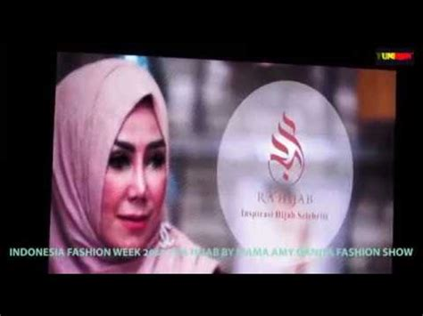 tutorial hijab mama amy innovfashion ra hijab by mama amy qanita fashion show