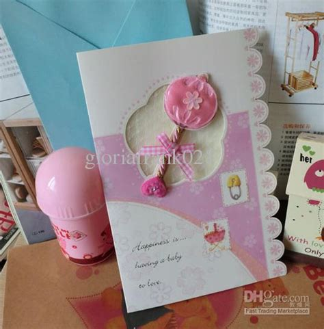 How To Price Handmade Cards - lovely 3d baby birthday card handmade greeting card