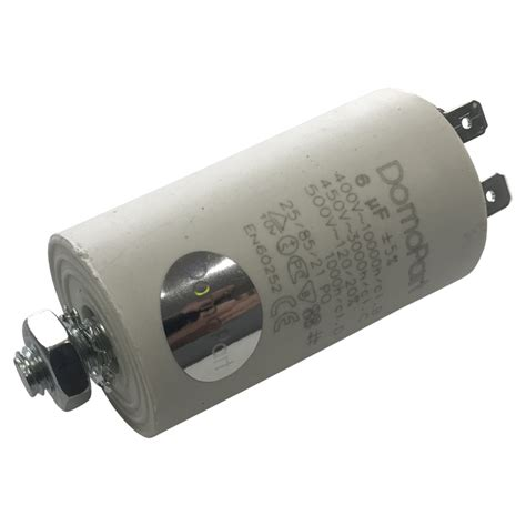 Capasitor Kapasitor 6uf 6 Uf 400v universal motor operating run capacitor 6uf 6mfd capacity 400v caterspares uk caterspares