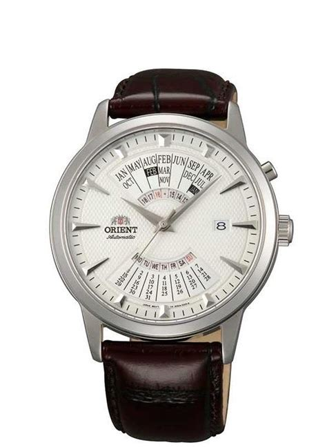 Orient Multi Year Calendar zegarek orient multi year calendar feu0a005wh w