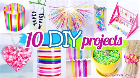 Diy Home Decor Cheap by 10 Diy Projects With Drinking Straws 10 New Amazing