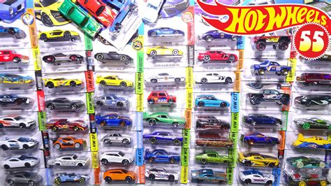 Hotwheels Wheels opening 55 wheels carded cars sports cars
