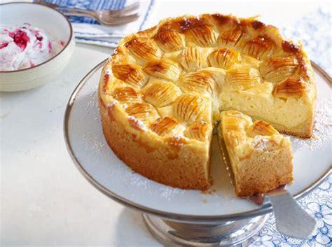 kuchen aus puddingpulver apfel schmand kuchen rezept essen und trinken