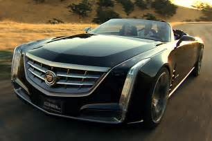 Concept Cadillac Convertible New Cadillac Ciel 4 Door Convertible Concept Wows Pebble