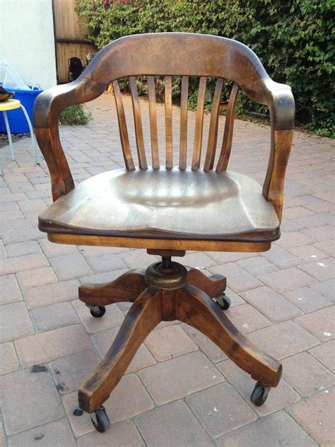 antique wooden swivel desk chair parts the world s catalog of ideas