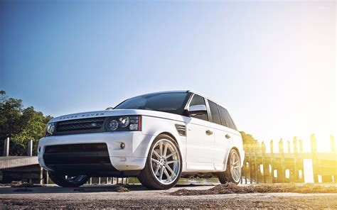 white range rover wallpaper white land rover range rover front side view wallpaper
