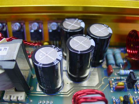 fix leaking capacitor leaking gold capacitor replacement tutorial
