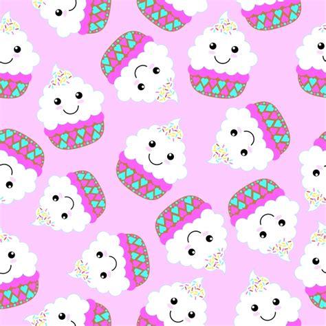 hd cupcake pattern cupcake pattern background vector free download