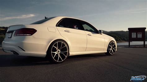 mercedes e350 rims mercedes e350 on vorsteiner v ff 103 wheels by