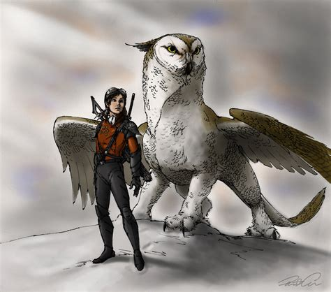 Gw Owl the owl griffin by robthedoodler on deviantart