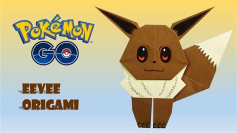 Eevee Origami - go origami eevee tutorial diy origami how to