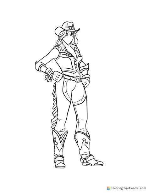 Fortnite - Calamity Coloring Page   Coloring Page Central