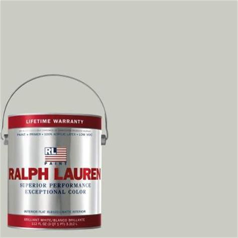 ralph 1 gal elgin gray flat interior paint rl1104f