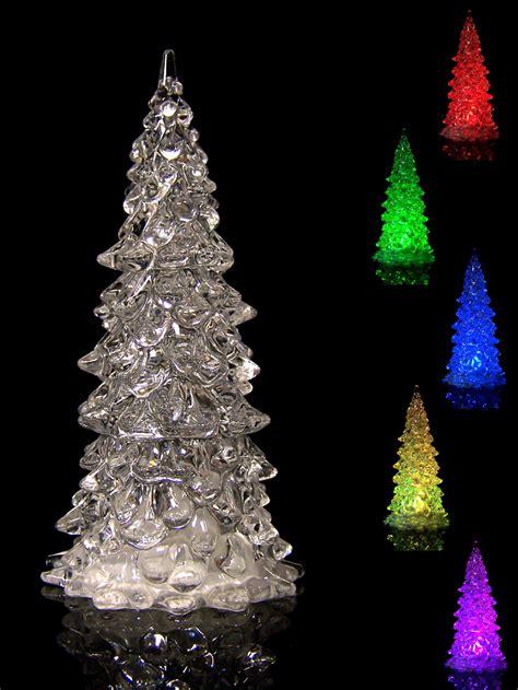 led kristall weihnachtsbaum mit farbwechsel tannenbaum