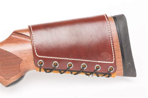 Handmade Decorative - custom leather rifle stock cuff d custom