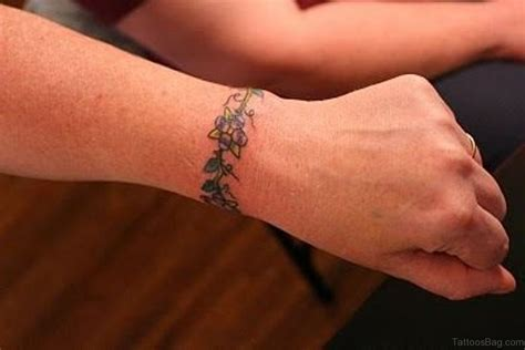 vine wrist tattoo 12 simple vine tattoos on wrist