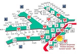 Chicago Ohare Gate Map by Ord Terminal 3 Map Bing Images