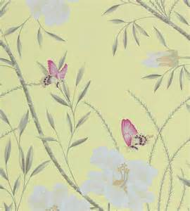 Sanderson Blinds Uk Papillon Wallpaper By Harlequin Jane Clayton