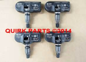 Tire Air Pressure Vw Jetta Vw Volkswagen Tire Pressure Sensor Tpms Set Of 4 Genuine