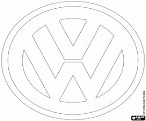 Alfa Img  Showing &gt VW Logo Drawing sketch template