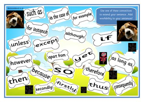 Connective Word Mat by Cool Connectives Colourful Word Mat By Rachyben Teaching Resources Tes