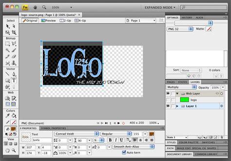 edit logo text logo editing