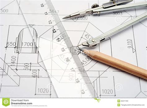 draw tool design engineering design and drawing tools stock photos image