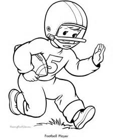 football player coloring pages football player coloring page az coloring pages