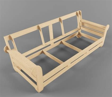 couch frame plans sofa frame 3 jpg 600 215 522 diy woodworking pinterest