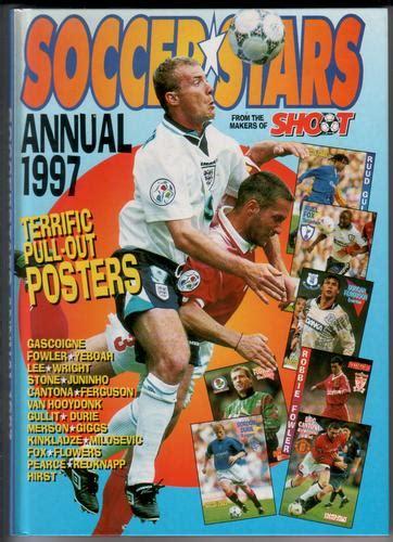 soccer superstars 2018 books soccer annual 1997 children s bookshop hay on wye