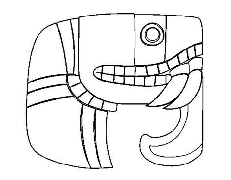 mayas imagenes dibujos imagenes mayas para colorear imagui