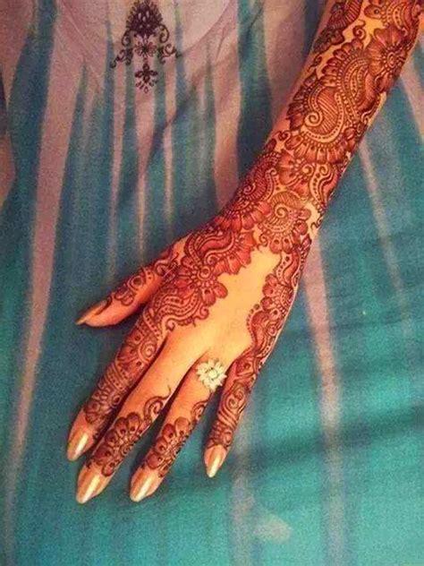 henna design bridal beautiful latest simple arabic pakistani indian bridal