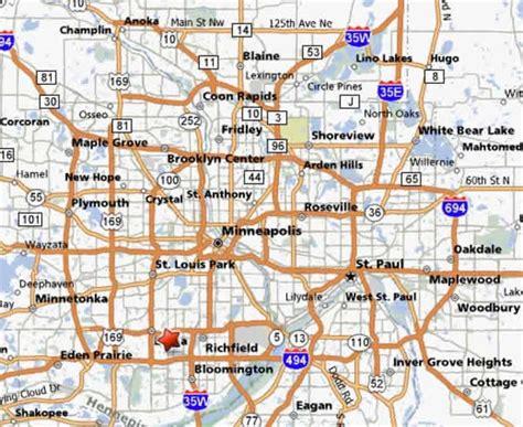 map of minneapolis area minneapolis metro map