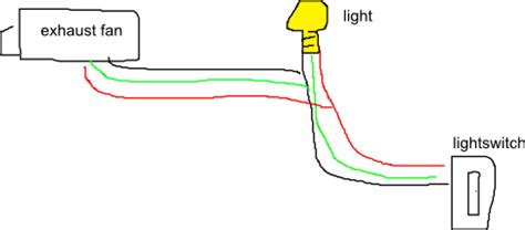 wiring diagram for exhaust fan wiring diagram with