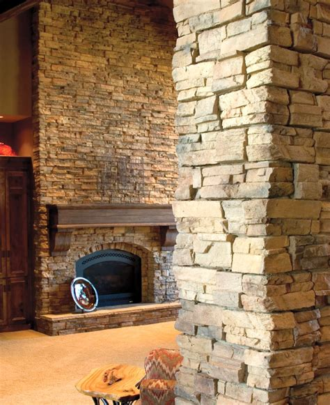 stack fireplaces the pillar
